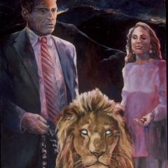 Lion on a Leash II